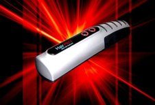 HairPro Laser Hair Brush - Laser Hair Treatment by Viatek LB01G - Click Image to Close