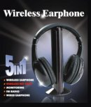 5 in 1 Wireless Headset with Net Chat
