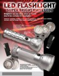 29 Super Bright White LED Flashlight (PI-208)