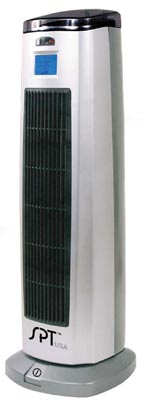 Tower ceramic heater w/ ionizer sh-1508