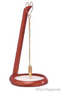 "PIT & PENDULUM 12"" Tall (NATURAL, BLACK or CHERRY )"