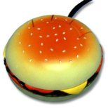 Hamburger Computer Mouse (ron-55)