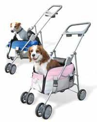Dog Travel Carrier and Stroller Combo